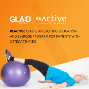 GLA:D Offered at ReActive